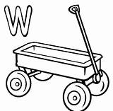 Wagon Coloring Pages Chuck Drawing Printable Wheel Template Clipart Print Clip Clipartmag Library Popular sketch template