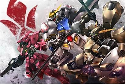 Orphans Blooded Iron Gundam Wallpapers Wide Monodomo