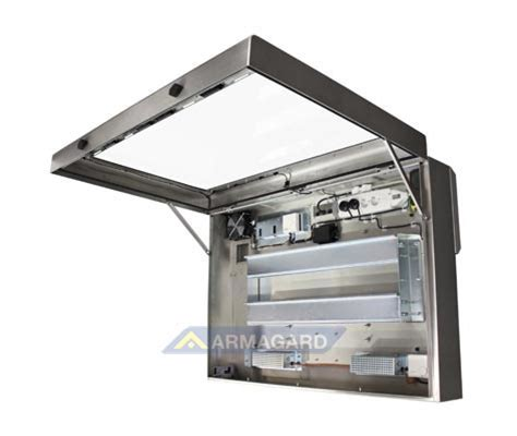 waterproof outdoor tv cabinet waterproof lcd enclosure outdoor tv protection