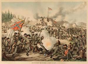 9: Kurz & Allison Civil War Battle Scene (Fort Sanders ...