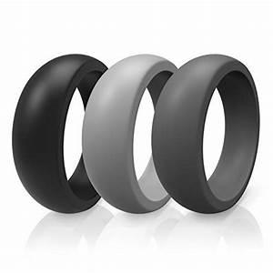 Silicone Wedding Band Ring 9 By ThunderFit WeddingRing