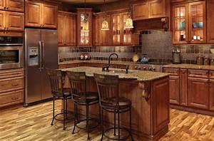Society Hill Raised Panel – Mocha – Kitchen Cabinets