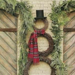 40 fy Rustic Outdoor Christmas Décor Ideas DigsDigs