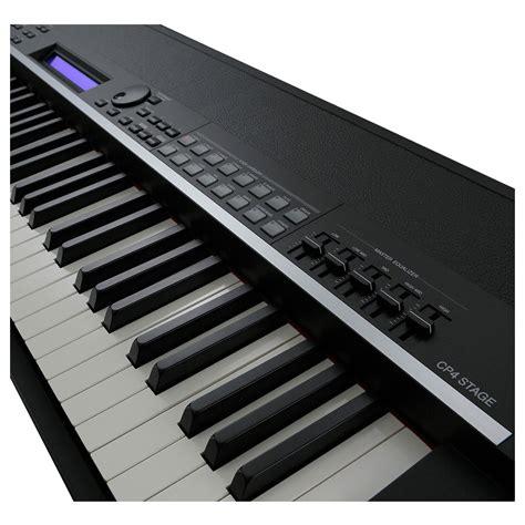 yamaha stage piano yamaha cp4 digital stage piano black at gear4music