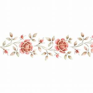Stencil Flower Border | www.imgkid.com - The Image Kid Has It!
