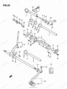 Suzuki Atv 2007 Oem Parts Diagram For Gear Shifting  1