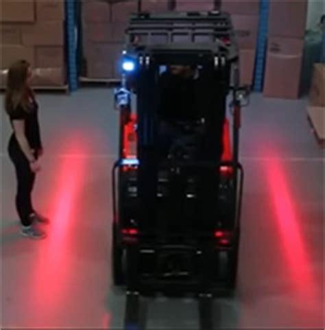 red zone safety light forklift side warning lights led or laser lift truck