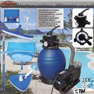 Pumpe Für Sandfilteranlage : mauk pool set sandfilteranlage pumpe reinigungsset swimmingpool 01 ebay ~ Frokenaadalensverden.com Haus und Dekorationen