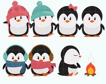 penguin clipart winter break pencil   color penguin
