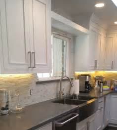 creative backsplash ideas for kitchens tiletuesday features an installation out of our