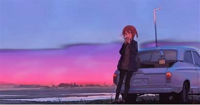 Chill Anime Study Engine Animated Wallpapers Lofi
