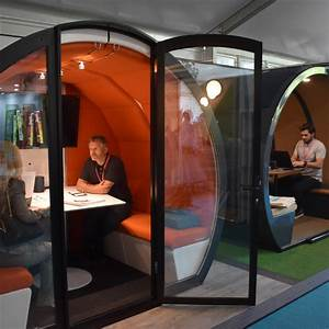 Meeting, Pod, 4, Person