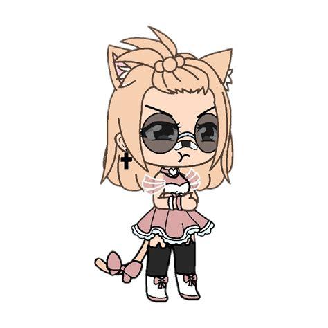gacha gachalife art studio girl gachagirl angry