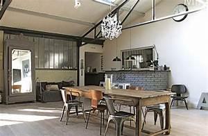 Loft Design Avec Une Dco Industrielle