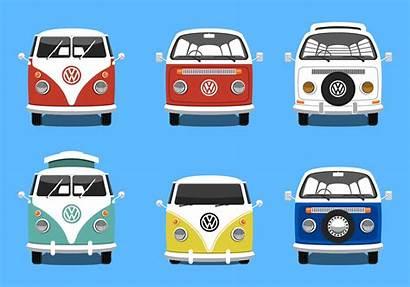 Vw Camper Bus Vector Silhouette Volkswagen Vecteezy