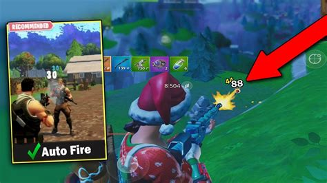 auto fire   broken  fortnite mobile youtube