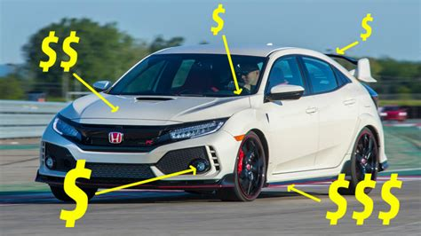 Honda Civic Type R Modification by Five Mods I D Do To My 2017 Honda Civic Type R Immediately