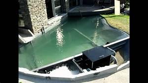 Filtre Bassin Exterieur : r novation de bassin filtre tambour kc 30 youtube ~ Melissatoandfro.com Idées de Décoration