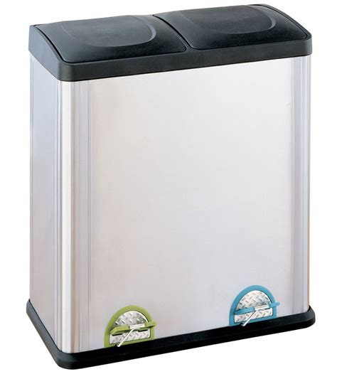 compartment stainless steel recycle bin  recycling bins