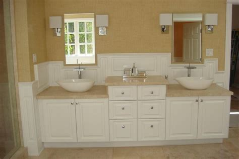 wainscoting america raised panel bathroom los angeles cali