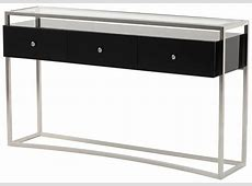Glass Console Tables Modern Glass Console Table Design
