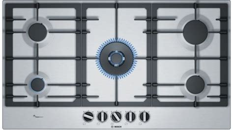 Buy Bosch 900mm Series 6 5 Burner Gas Cooktop   Harvey