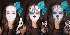 Schminken Zu Halloween : sugar skull tutorial belle m lange ~ Frokenaadalensverden.com Haus und Dekorationen