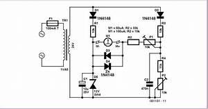Voltmeter In A Circuit Diagram