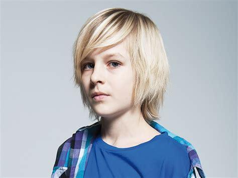 Medium Long Haircut For A Sporty Boy