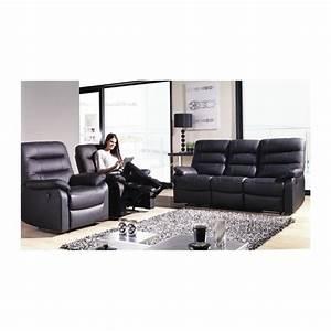 canape cuir avec relax electriques panel meuble With canape cuir avec relax