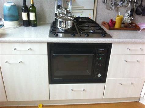 Oven Inbouwen In Keukenkastje by Vervangen Kookplaat En Oven Door Ikea Kookplaat En Grotere