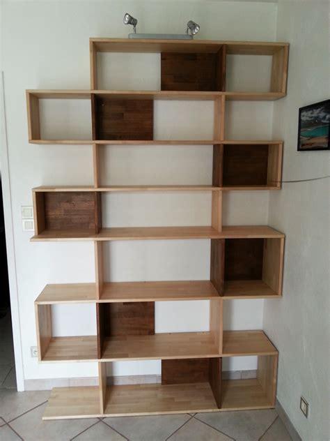 faire soi meme sa cuisine faire sa propre bibliothèque en bois massif le du bois