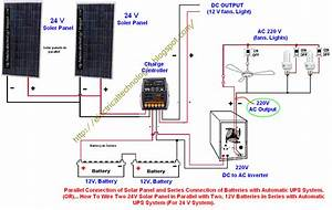 Rv Solar Wiring Diagram For 12v