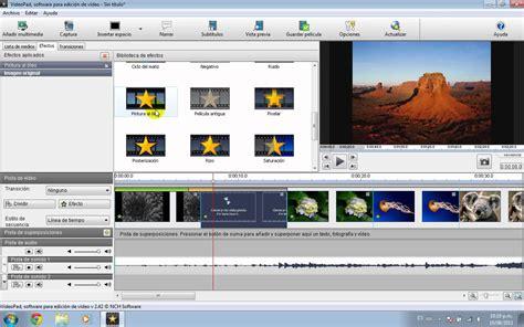 Tutorial Videopad Crear Video Con Imagenes Youtube