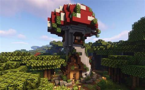 mushroom house   minecraftbuilds cute minecraft houses minecraft cottage