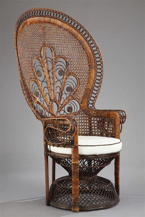 fauteuil en rotin 224 haut dossier quot emmanuelle quot meubles