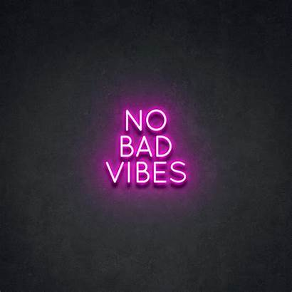 Vibes Bad Neon Point