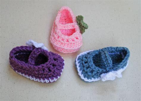 crochet baby booties ta bay crochet free pattern mary jane skimmer booties