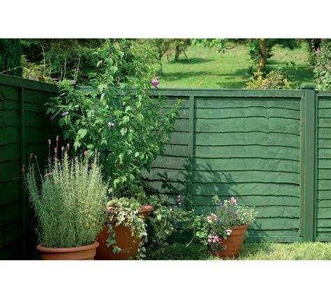 green garden fence buy cuprinol ducksback 5 year waterproof 5l forest green 1374