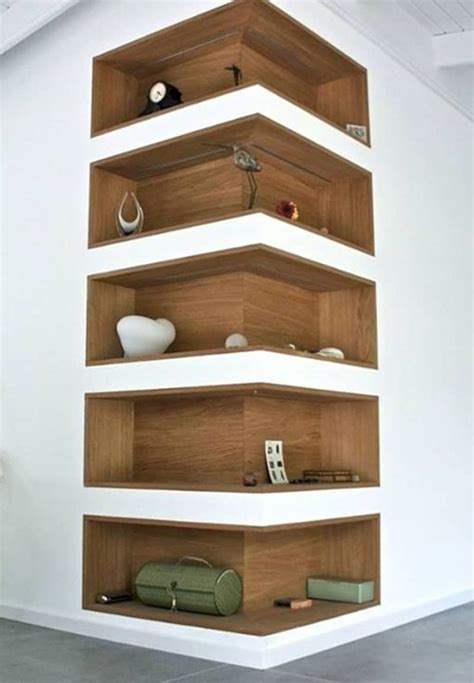 smart  functional corner shelves   home