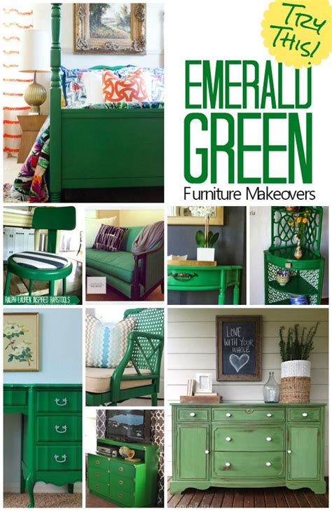 green bureau try this emerald green furniture makeovers bureaus