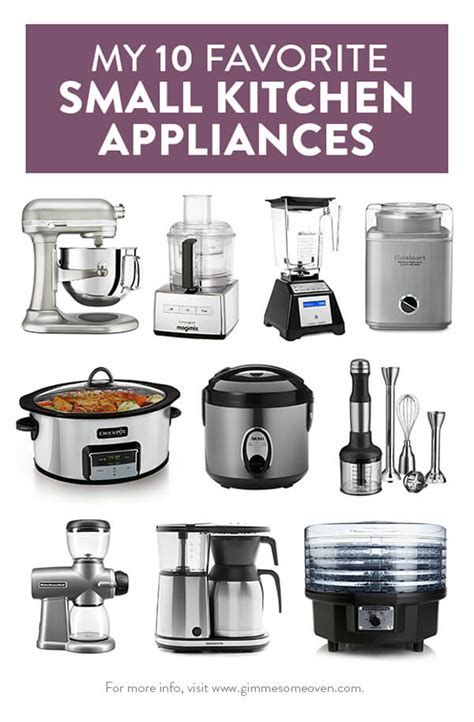 small kitchen appliances my 10 favorite small kitchen appliances gimme some oven
