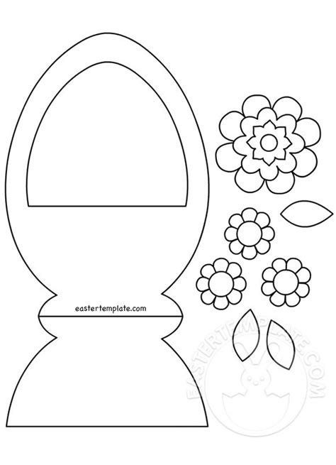 easter bunny cut out template 89047 easter preschool basket cut out easter template