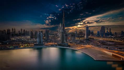 city dubai arabic dream burj khalifa united arab emirates