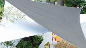 Toile De Jardin : brise vue jardin ardoise ~ Teatrodelosmanantiales.com Idées de Décoration