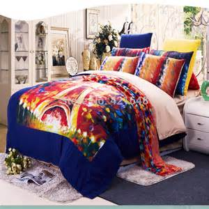 popular eiffel tower comforter set buy cheap eiffel tower comforter set lots from china eiffel