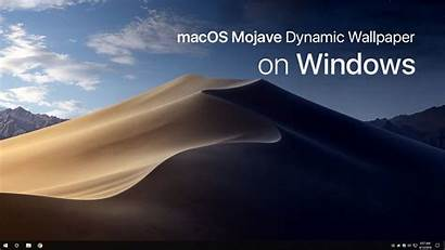 Mojave Dynamic Windows Macos Changing