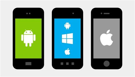 app for android phone microsoft windows phone android and ios are all