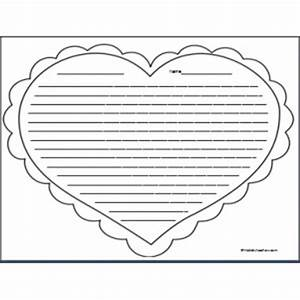 best photos of heart with lines to write heart shape With heart shaped writing template