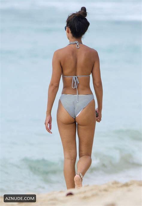 Montana Brown Sexy Rocking Her Bikini In Barbados Aznude